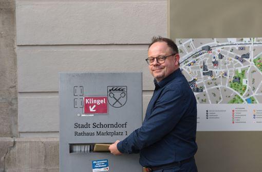 Bernd Hornikel bewirbt sich