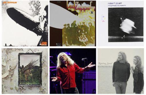 15 starke Songs des Led Zeppelin-Sängers Robert Plant