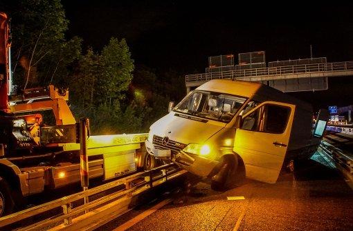 Vier Baustellen-Unfälle an einem Tag