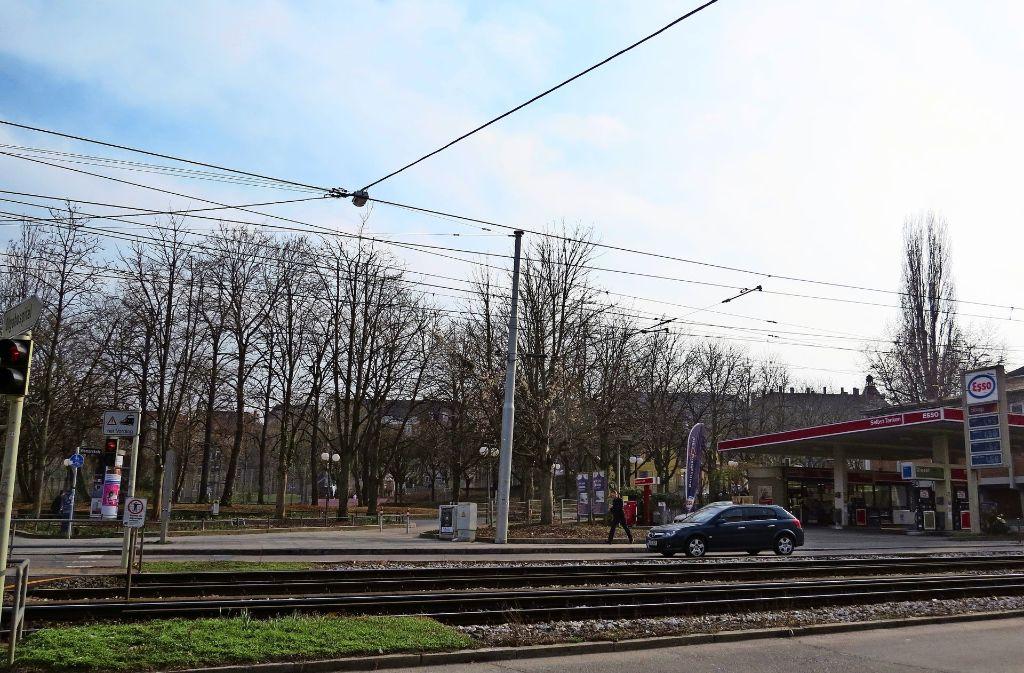 Dauerthema im Westen: Der Wunsch nach Grün an den Gleisen. Foto: Kathrin Schall