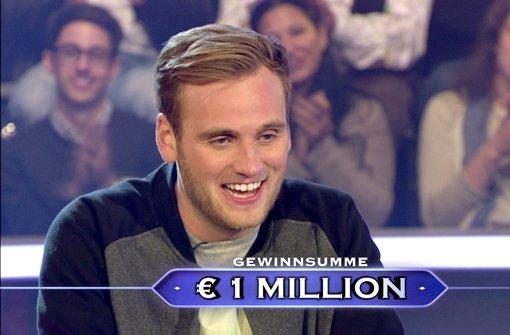 Jauch macht 27-Jährigen zum Millionär