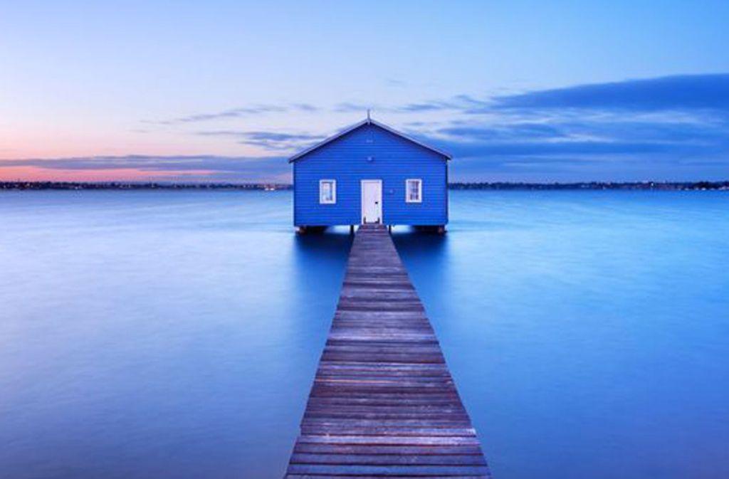"""Eigentlich wird das Haus """"Crawley Edge"""" Boatshed genannt, was so viel bedeutet wie Bootsschuppen am Rande von Crawley, dem gleichnamigen Vorort in Perth. Foto: Getty Images"""