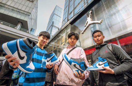 Chinas gefährlicher Sneaker-Wahn