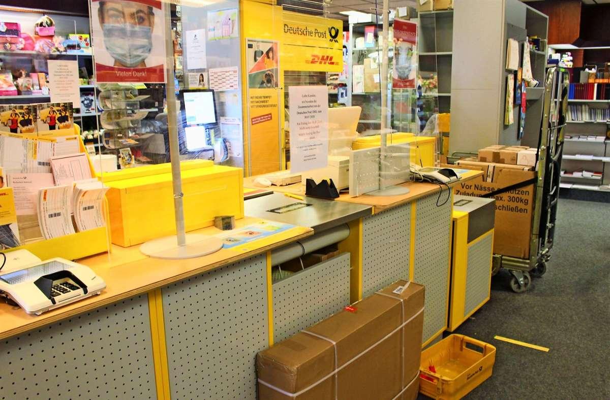 Überall stehen Pakete – Corona habe das verschärft, sagt Regina Hofheinz. Foto: Caroline Holowiecki