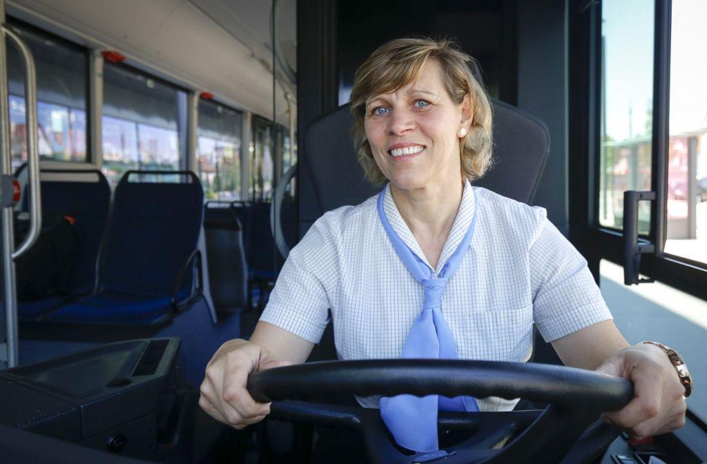 Mona Schneider ist zur nettesten Busfahrerin gewählt worden. Foto: factum/Granville