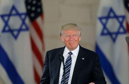 USA werden Jerusalem als Hauptstadt Israels anerkennen