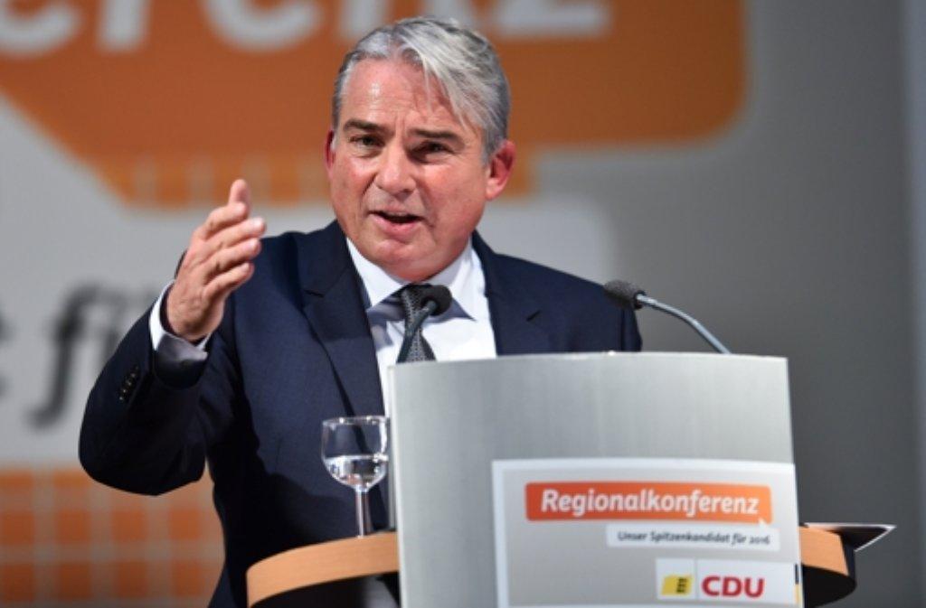 Baden-Württembergs CDU-Landeschef Thomas Strobl Foto: dpa