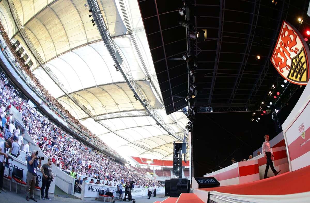 Die VfB-Mitgliederversammlung soll nun doch in den Sommer verschoben werden. Foto: Pressefoto Baumann/Hansjürgen Britsch