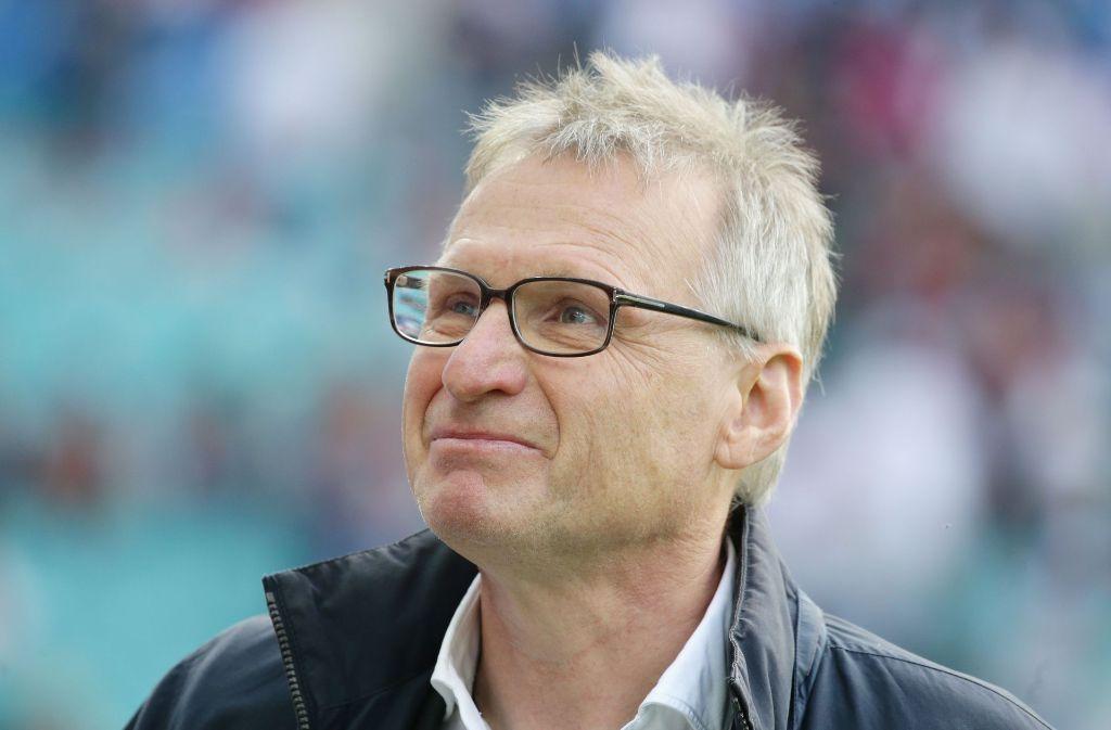 Michael Reschke Reschke kam im August als Nachfolger von Jan Schindelmeiser zum VfB. Foto: Pressefoto Baumann