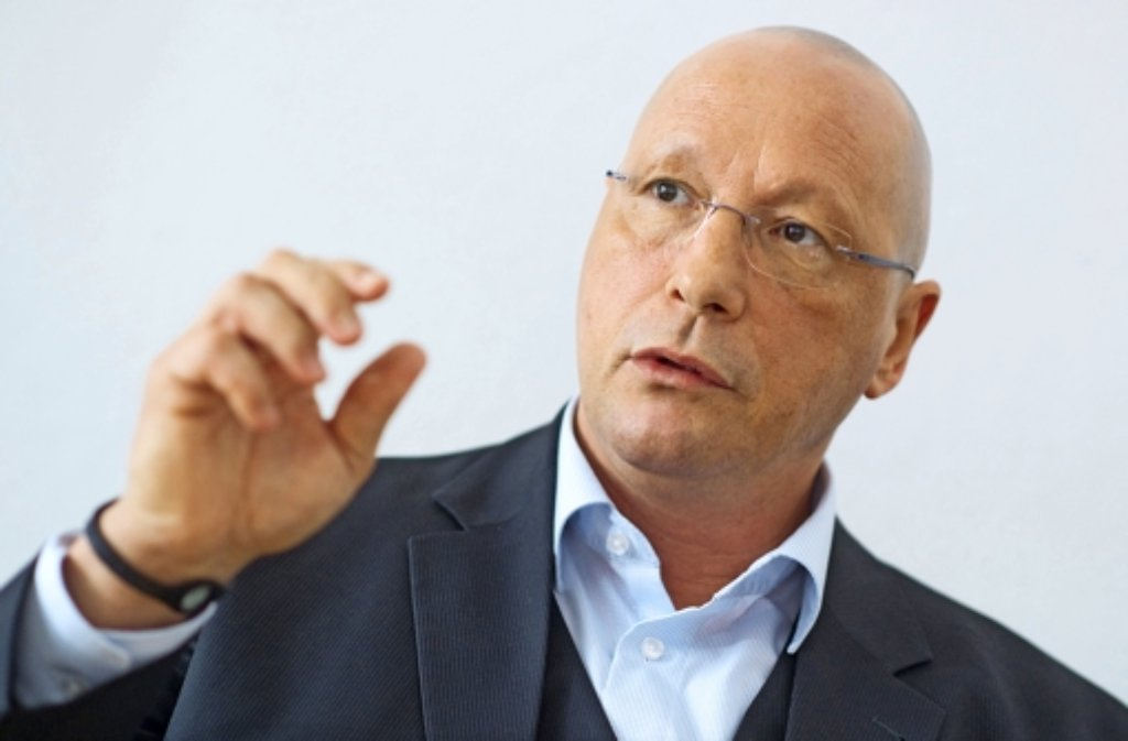 Porsche-Betriebsratschef Uwe Hück ist Botschafter des Projektes. Foto: dpa