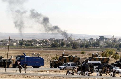 Der Druck auf die Kurden-Stadt Kobane wächst