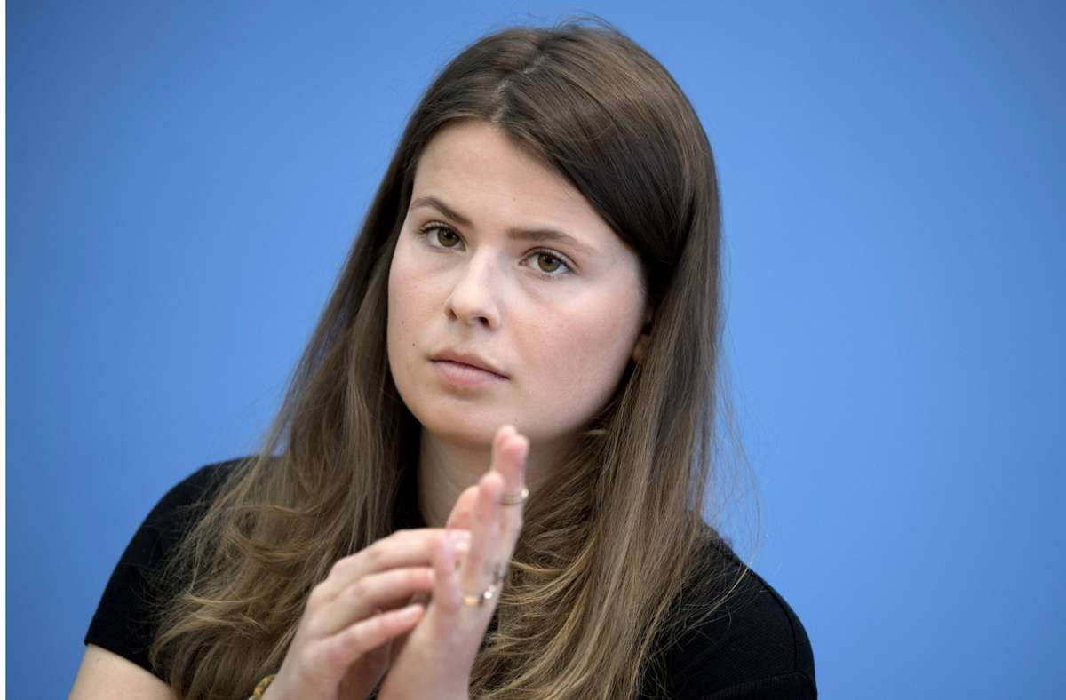 """Luisa Neubauer von Fridays-for-Future kritisierte eine """"unnötige Polemisierung"""". Foto: imago /IPON/S. Boness/Ipon via www.imago-images.de"""