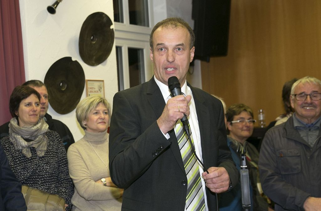 Sieghart Friz hat jetzt in der CDU-Kreistagsfraktion das Sagen. Foto: Pressefoto Horst Rudel