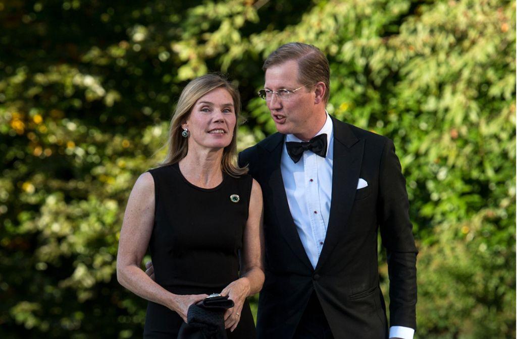 Er führt die Geschäfte des Hauses Baden: Prinz Bernhard. Er ist mit der Bürgerlichen Stephanie Kaul verheiratet. Foto: dpa