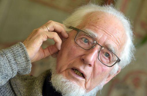 Genossen finden bewegende Worte zum Tod von Erhard Eppler