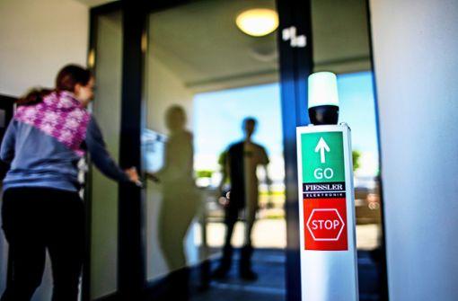 Firma aus Aichwald entwickelt Kontrolle für Kundenströme