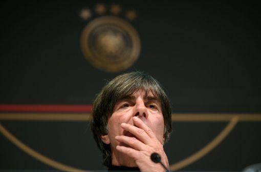 Für Bundestrainer Löw gibt es noch viel zu tun