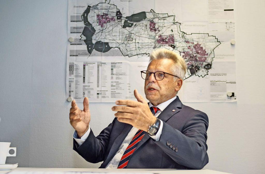 OB Michael Makurath ist neuer Präsident des Verbands der baden-württembergischen Bürgermeister. Foto: factum/Weise