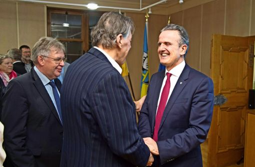 Frank Nopper bleibt Oberbürgermeister