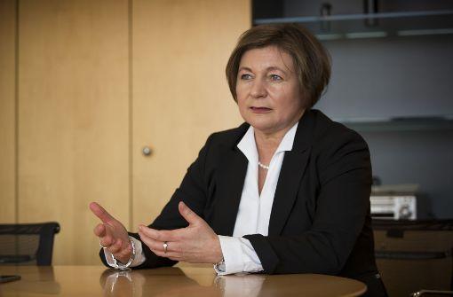 Erste Frau an der Sparkassenspitze