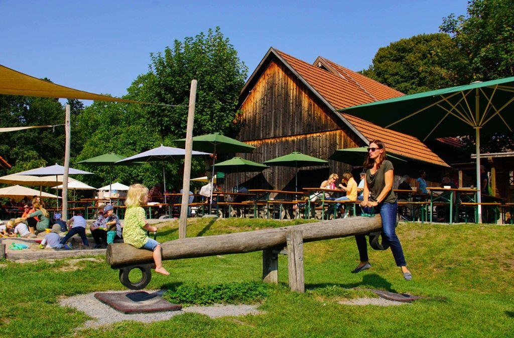Tipp 1: Ein Klassiker unter den Stuttgarter Ausflugszielen für Familien ist der Katzenbacher Hof im Büsnauer Wald. Foto: Andreas Rosar Fotoagentur-Stuttgart