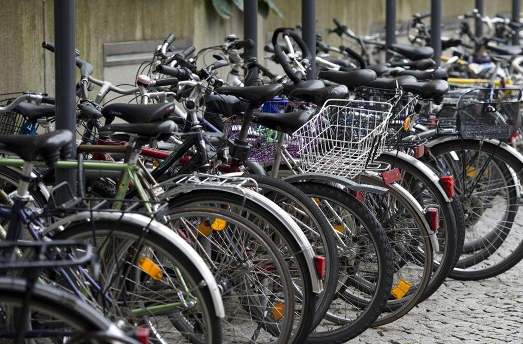 Fahrräder brauchen Platz (Symbolbild). Foto: dpa