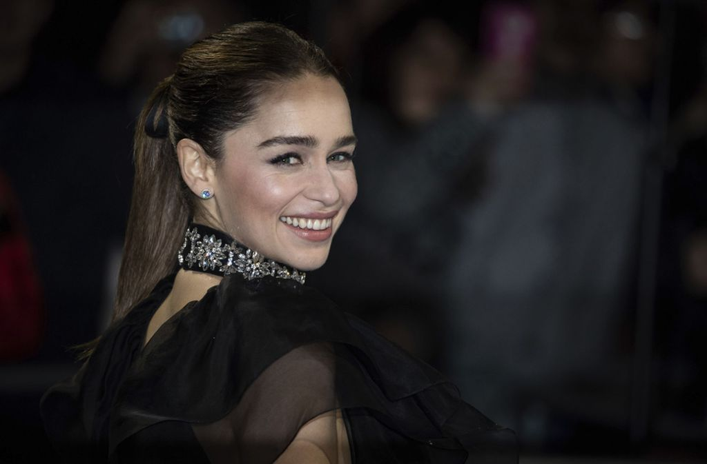 """Emilia Clarke hat sich zu der Kritik am """"Game of Thrones""""-Finale geäußert. Foto: AP/Vianney Le Caer"""