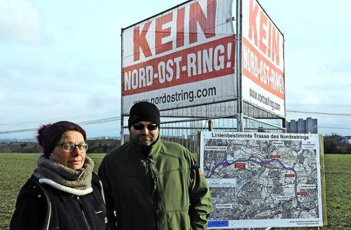 Protest gegen den Nord-Ost-Ring