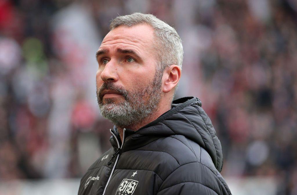VfB-Coach Tim Walter Foto: Pressefoto Baumann/Julia Rahn