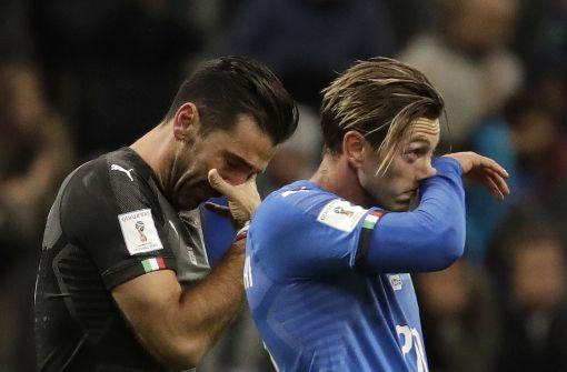 Der italienische Fußball liegt in Trümmern