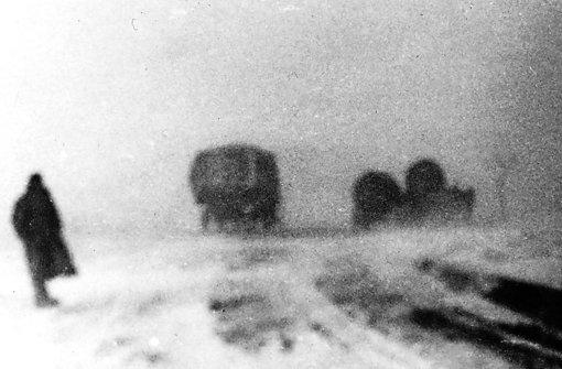 Ein verschwommenes Bild aus dem Fotoalbum des Großvaters. Foto:Peter Foto: