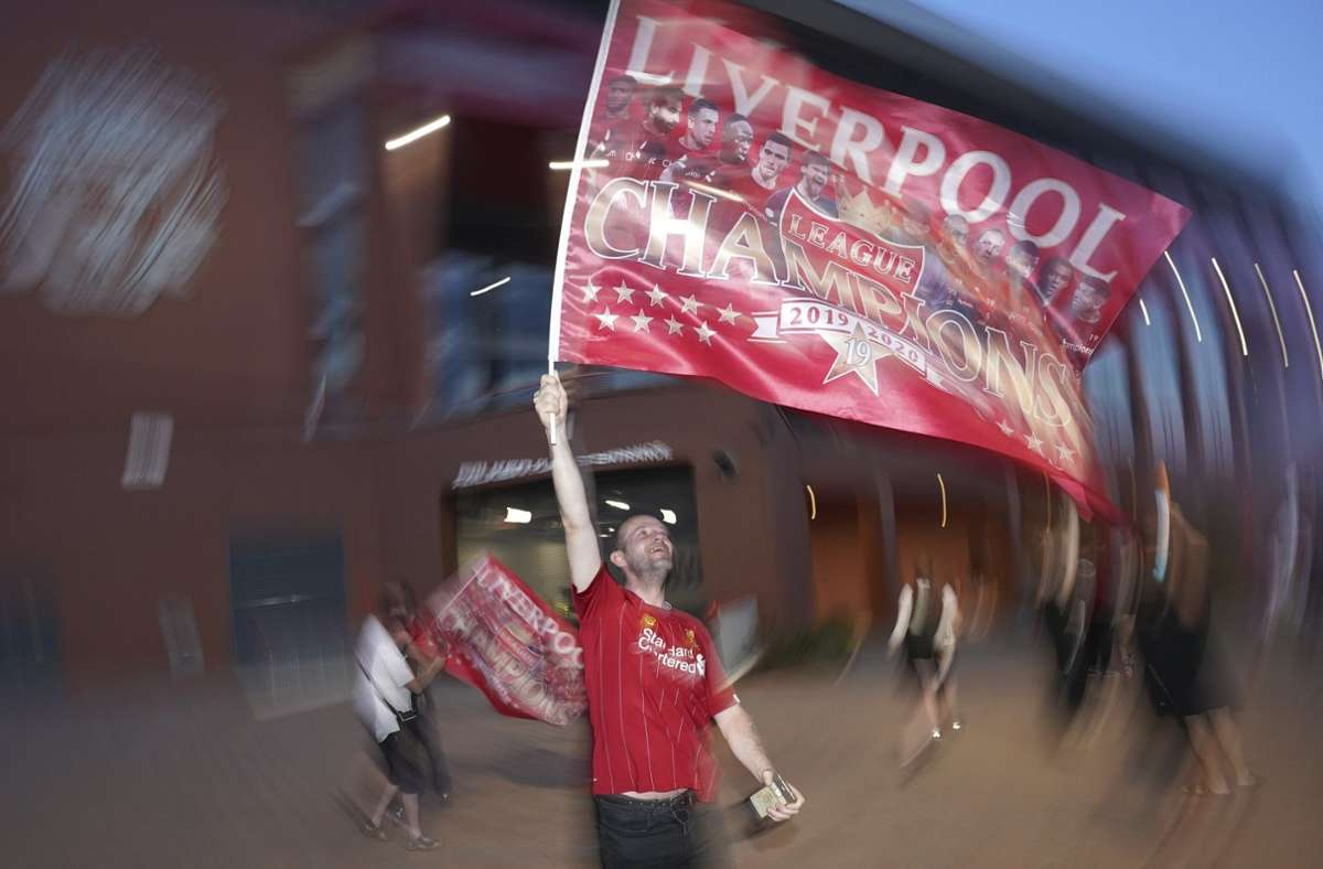 Der FC Liverpool ist nach 30 Jahren wieder englischer Meister. Foto: dpa/Jon Super