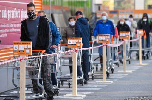Bau- und Supermärkte profitieren nur wenig vom Teil-Lockdown