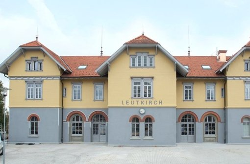 Der Bürgerbahnhof von Leutkirch