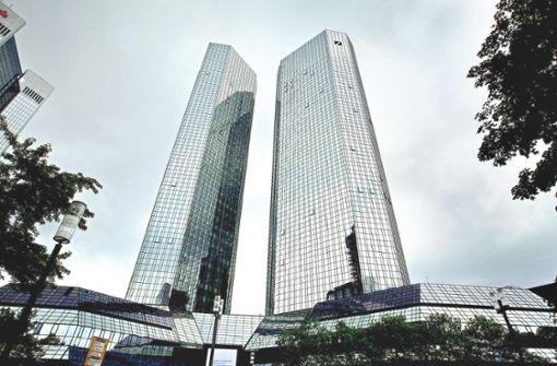 Deutsche Bank will es alleine schaffen