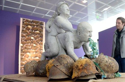 Skandal-Skulptur wird in Stuttgart gezeigt