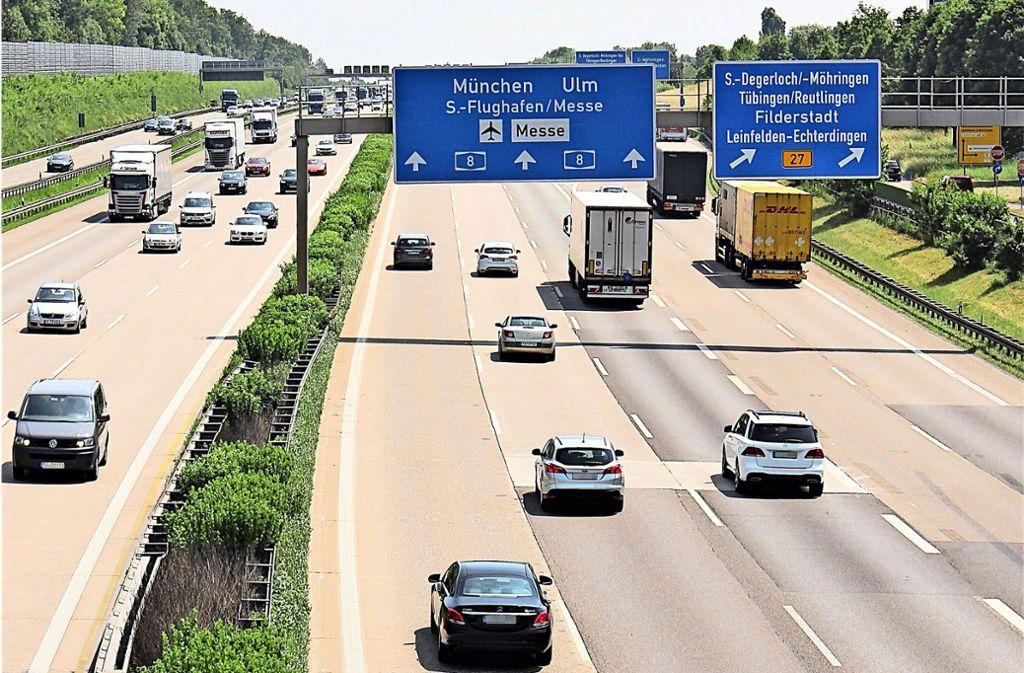 Leinfelden-Echterdingen ist ein beliebter Standort für Firmen, weil die Stadt direkt an der Autobahn liegt. Foto: Caroline Holowiecki