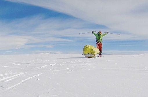 Einmal alleine durch die Antarktis