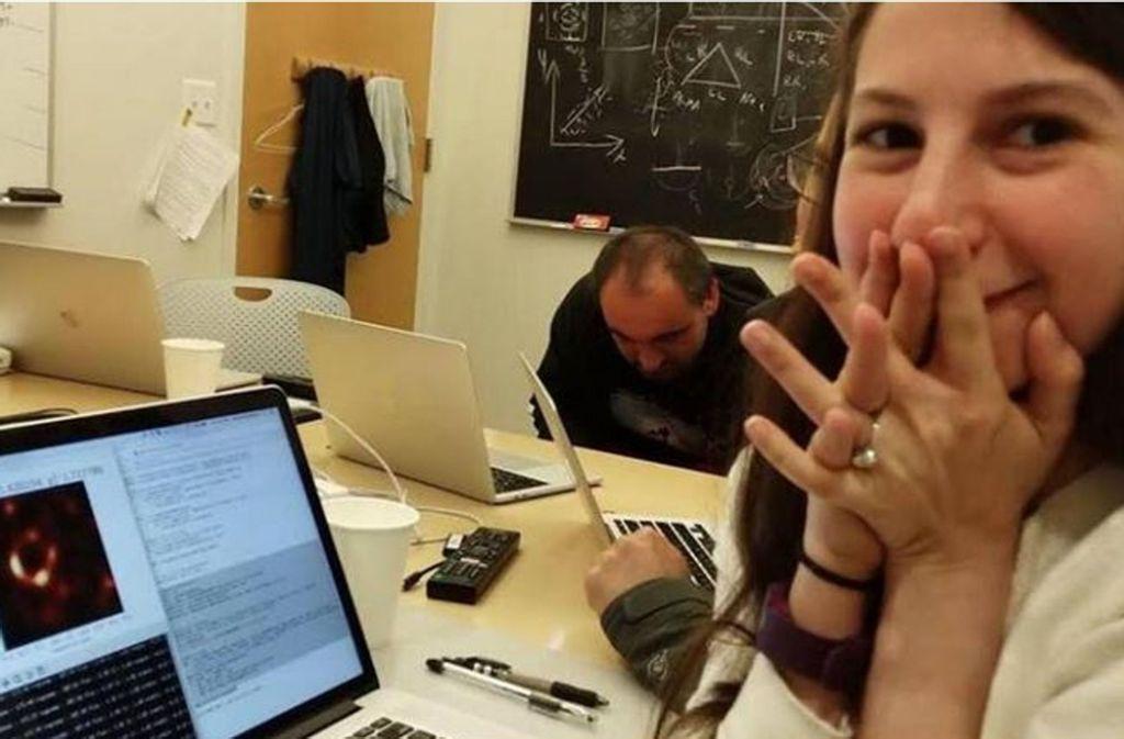 """Die Forscherin hatte 2016 den Algorithmus mit dem Namen """"Chirp"""" entwickelt. Foto: Screenshot/Bouman"""