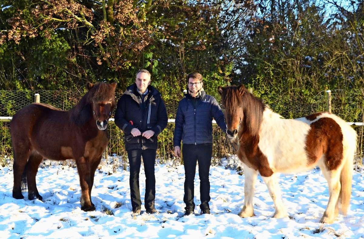 Alexander Jung (links) mit Dynjandi und Michael Klingels mit Astoria Foto: Sandra Hintermayr