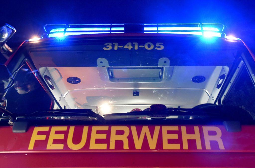 Die Feuerwehr musste den Mann aus dem stillen Örtchen befreien. Foto: dpa