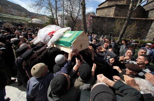 Opfer in der Türkei bestattet