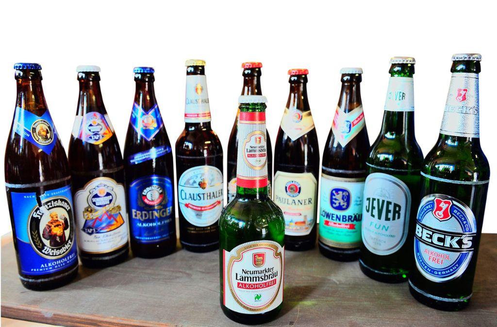 Der Anteil an alkoholfreiem Bier nimmt in Deutschland stetig zu. Foto: dpa