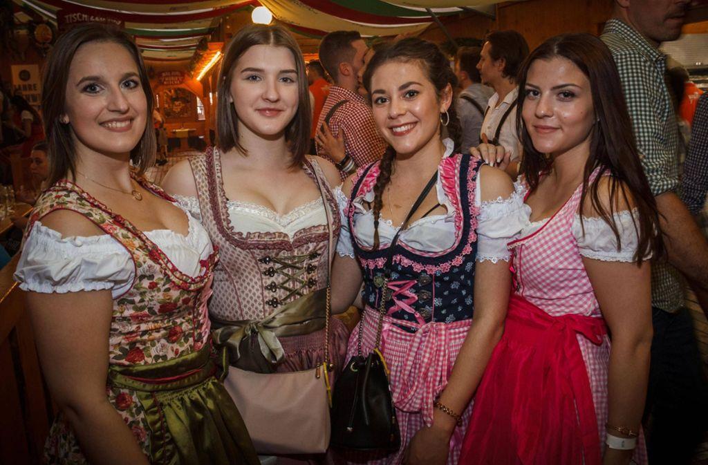 Das Stuttgarter Frühlingsfest ist in diesem Jahr bislang gut besucht. Foto: 7aktuell.de/Daniel Boosz