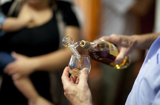 Whisky-Walk auf gutem Weg