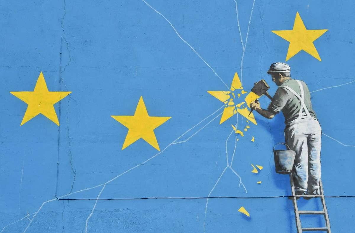 Dass Großbritannien die EU verlässt, war schon lange klar. Ob dies ohne Handelspakt geschieht (No Deal) schien lange Zeit offen. Foto: AFP/GLYN KIRK