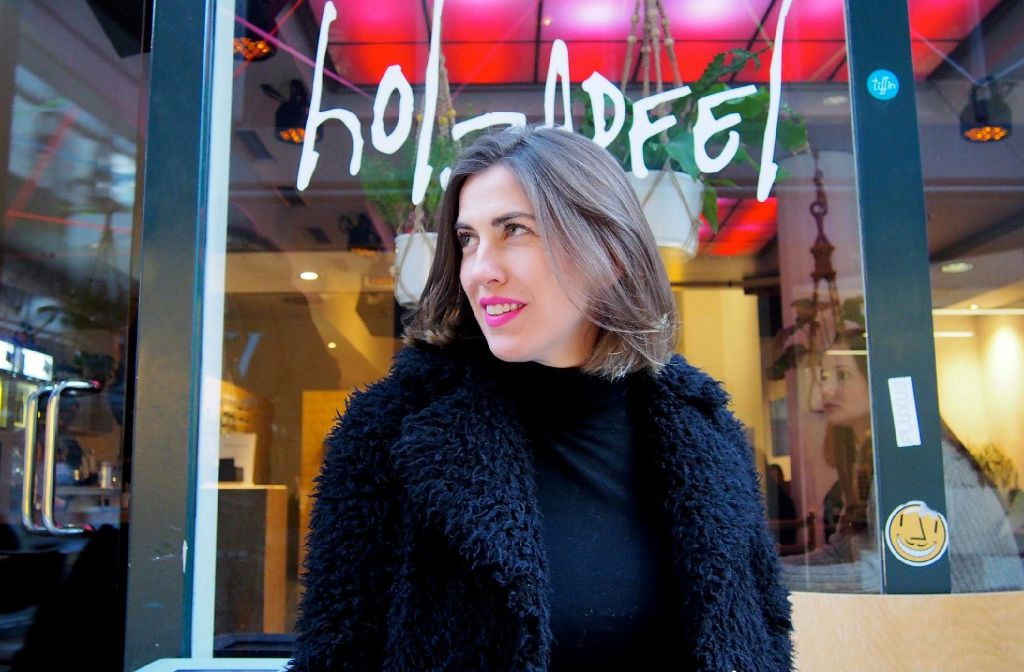 Nina Holzapfel im Stadtkind-Stylecheck. Foto: Tanja Simoncev