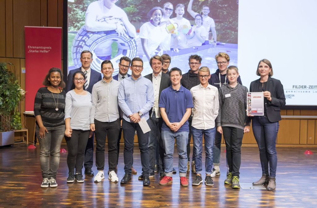 ... der Jugendgemeinderat Leinfelden-Echterdingen. Aber an dem Abend waren irgendwie alle Gewinner. Foto: Thomas Krämer