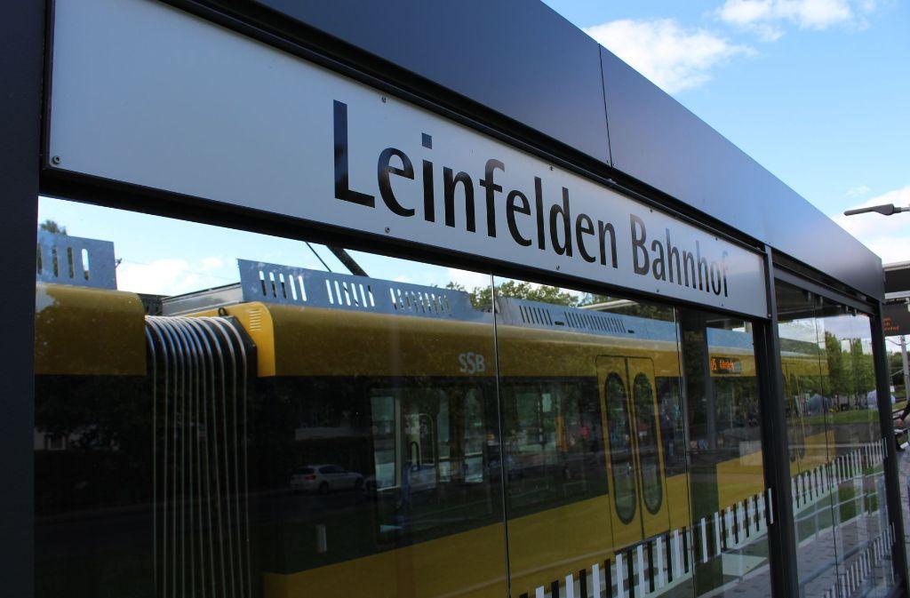 Seit 1990 ist Leinfelden die Endstation der U5. Foto: Jacqueline Fritsch