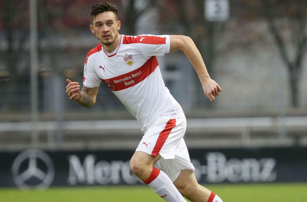 Boris Tashchy vom VfB Stuttgart wechselt nach Tschechien zum FC Zbrojovka Brünn. Foto: Pressefoto Baumann